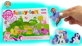 Littlest Pet Shop Go To My Little Pony Fuzzy Felt MLP Felty Picnic Party