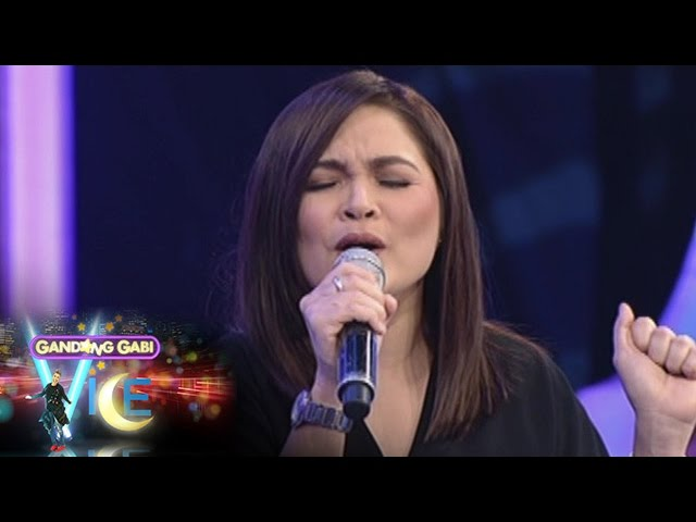 GGV: Judy Ann Santos sings on GGV stage