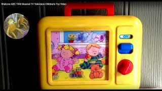 Shelcore ABC 1990 Musical TV Television Children's Toy Video