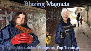 Magnet Fishing UK 2019 #020 Marie And The Queen Have Weapon,s Top Trumps