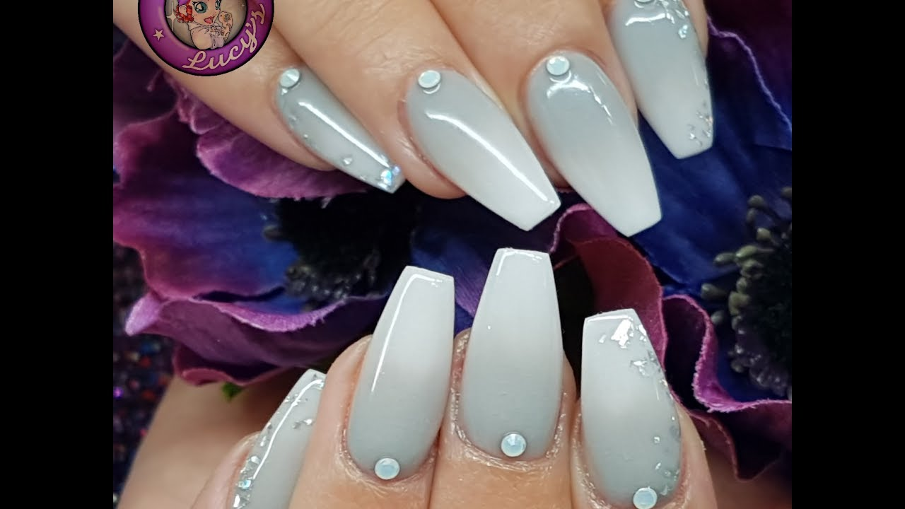 Grey Acrylic Ombre Redesign