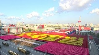 Biggest military parade in North Korea's history marks 70th anniversary