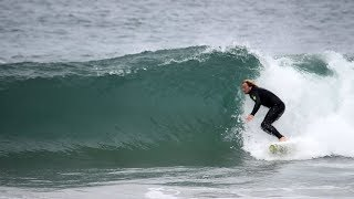 SURFING In SHARK INFESTED Water In CALIFORNIA