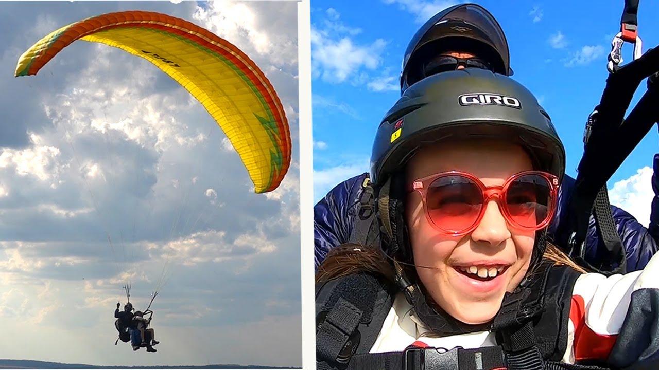 Jasmina A ZBURAT cu PARAPANTA ! Vlog Extremal !