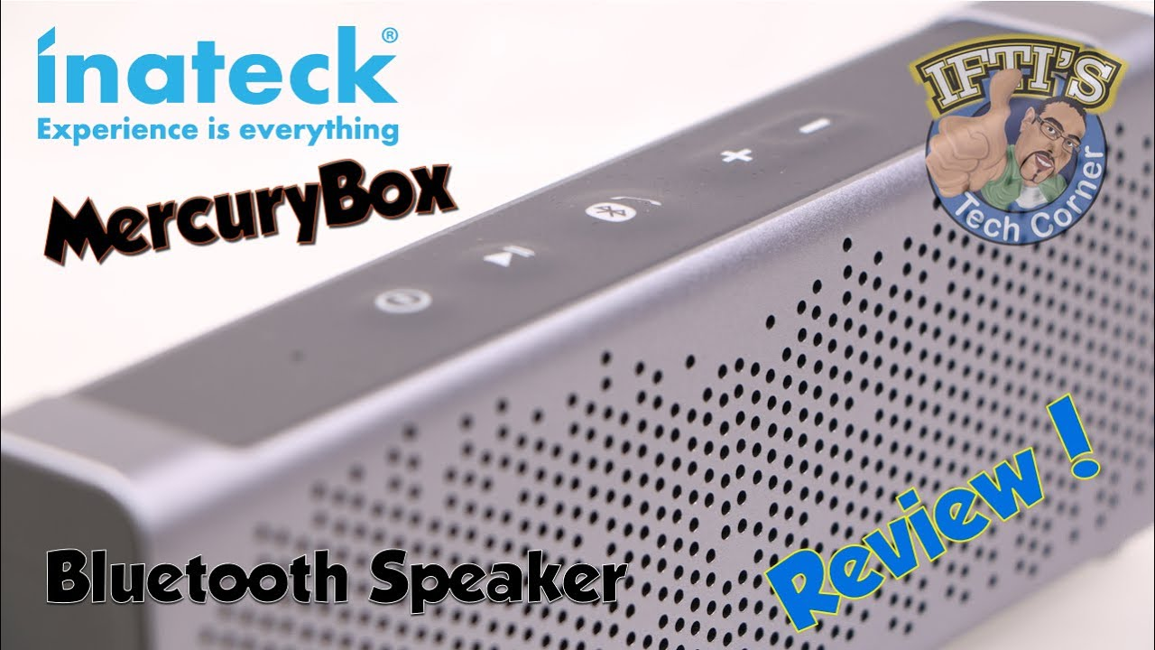 Inateck BP2101 'MercuryBox' - Bluetooth 4 0 Stereo Speaker for  iPhone/Android/Tablets - REVIEW