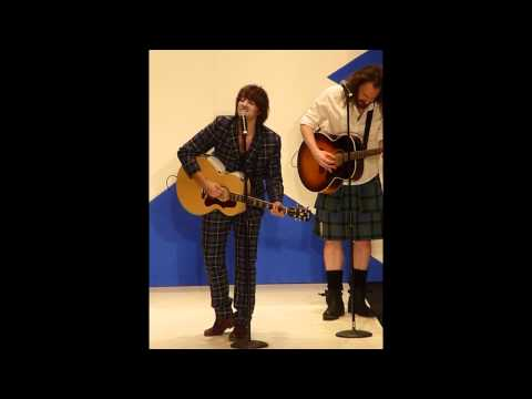 "Paolo Nutini ""Caledonia"" Dress to Kilt in NYC"