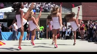 """""""Shake It"""" USC Song Girls in Slow Motion at 35th Annual SWIM WITH MIKE Fundraiser"""
