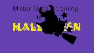 Mister Testis entrena para Hallooween / Kukuxumusu is training to face Halloween