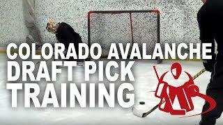 Goalcrease Training Kent Patterson Colorado Avalanche Prospect