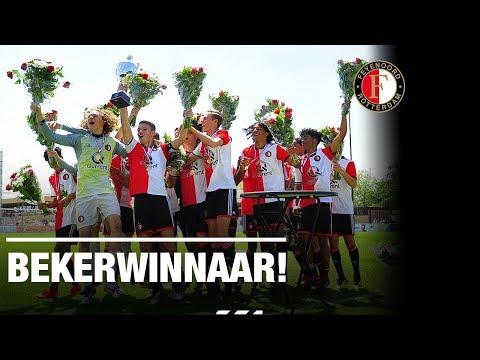 Feyenoord O17 bekerwinnaar! | Highlights finale op Varkenoord