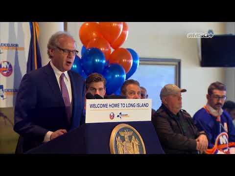 Belmont Park Full Press Conference | New York Islanders | MSG Networks