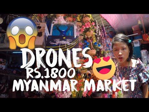 Exploring Namphalong Market, Myanmar, Rangoon, Burma. Namfalong, Moreh Bazar, Drones, #MyDreamLife