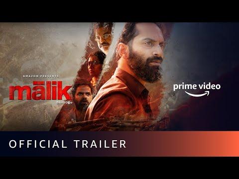 Malik - Official Trailer   Mahesh Narayanan   Fahadh Faasil, Nimisha Sajayan   Amazon Prime Video