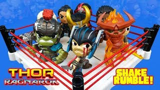 Thor: Ragnarok Movie Shake Rumble Match & Mystery Minis Unboxing!