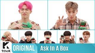 ASK IN A BOX(에스크 인 어 박스): MONSTA X(몬스타엑스) _ Alligator(엘리게이터)