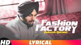 Fashion Factory (Lyrical Video) | Aakash Grewal | Latest Punjabi Songs 2018 | Speed Records