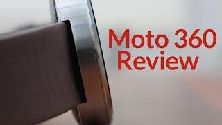 Motorola Moto 360 SmartWatch Review
