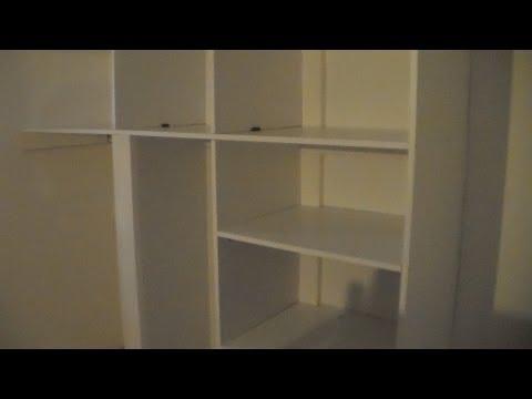 Cr ation d 39 une biblioth que en placo funnycat tv - Comment fabriquer une bibliotheque ...