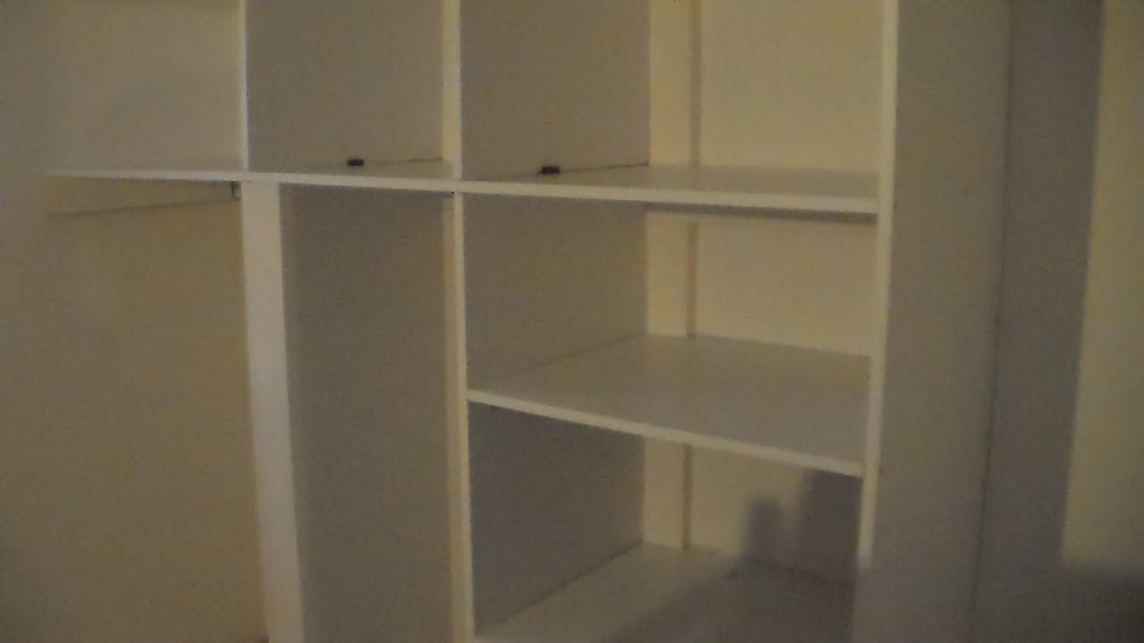 Comment faire des etageres how to make shelves youtube - Etagere murale avec porte coulissante ...