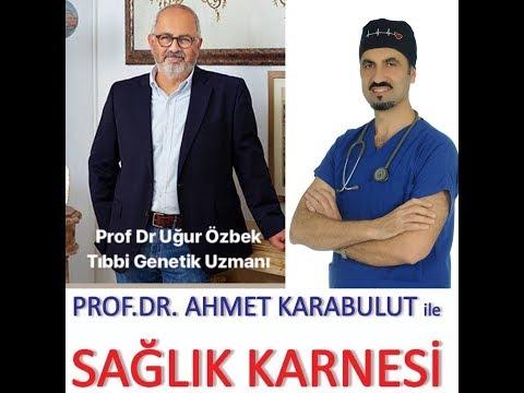 GENETİK CHECK-UP YAPTIRMAK MÜMKÜN MÜ? - PROF DR UĞUR ÖZBEK - PROF DR AHMET KARABULUT