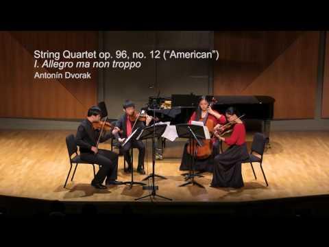 "JCM-LA Season 2016-17 Final: Lin String Quartet no.2 / Dvorak String Quartet, op 96 no 12 ""American"""