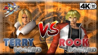 KOF MAXIMUM IMPACT 2【TAS】VS【TAS】 TERRY BOGARD VS ROCK HOWARD