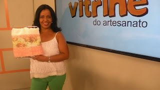 Toalha de Rosto em Print Collage com Rosana Cremasco