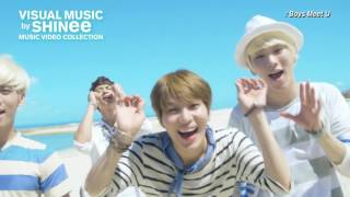 「VISUAL MUSIC by SHINee~music video collection~」Special Digest映像(2016年6月29日(水)発売 SHINee初のコンプリート・ミュージック・ビデオクリップ集「VISUAL MUSIC by SHINee~music video collection~」スペシャルダイジェスト..., 2016-06-09T08:00:03.000Z)