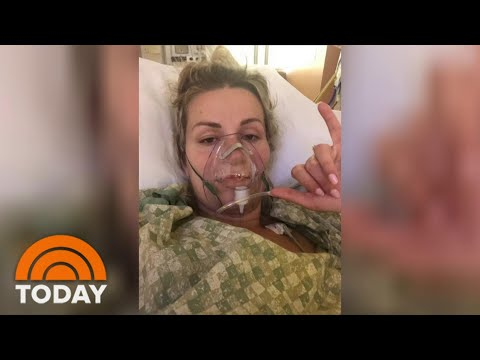 Mom Who Delivered Baby While In Coma From COVID-19 Shares Her Experience | TODAY
