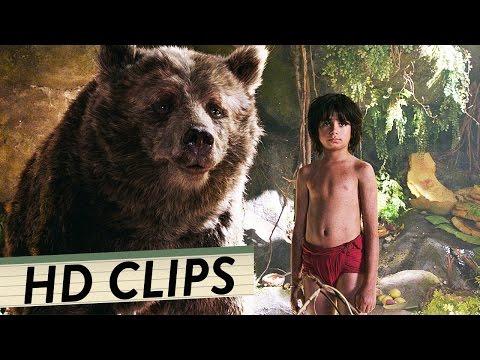 THE JUNGLE BOOK Alle Clips Szenen & Trailer Deutsch German (HD) | Das Dschungelbuch 2016