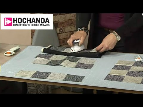 Learn How To Sew And Make A Quilt With Hochanda - The Home Of Crafts, Hobbies And Arts