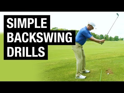 How To Improve Your Backswing (Simple Feel Drills To Eliminate Swing Thoughts)