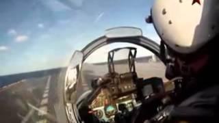 这个视频让你知道中国航母舰载机是如何在舰上起降的