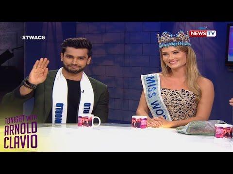 Tonight with Arnold Clavio: Miss World 2015 and Mister World 2016 on TWAC