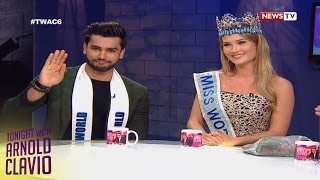 Tonight with Arnold Clavio: Miss World 2015 and Mister World 2016 on TWAC
