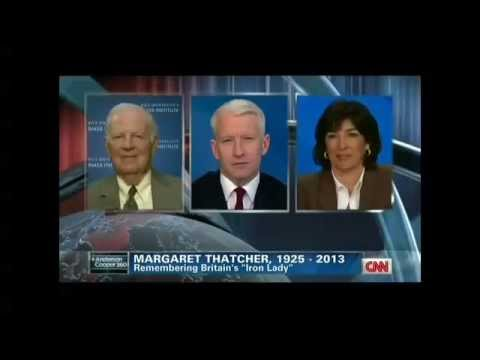 James A. Baker, III Speaks to CNN About Margaret Thatcher