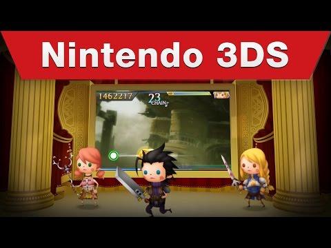 Nintendo 3DS - Theatrhythm Final Fantasy: Curtain Call Launch Trailer