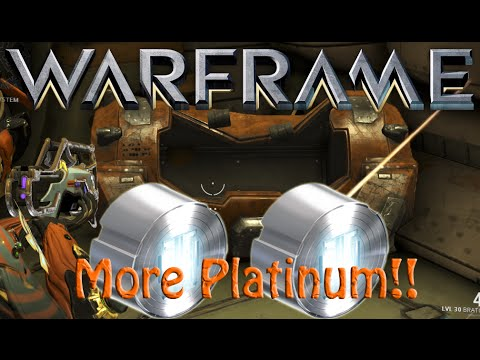 Warframe More Platinum To Giveaway YouTube
