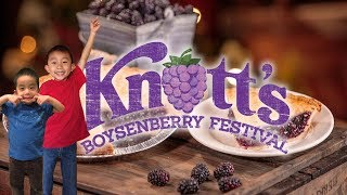 INSANE FOOD at Knott's Boysenberry Festival 2018 at Knott's Berry Farm: Travel with Kids