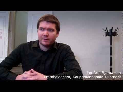 Jón Árni Bjarnarson - Framhaldsnám í landslagsarkitektúr, Kaupmannahöfn, Danmörku