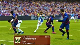 Barcelona vs leganes - all goals & highlights 2020 pes gameplay hd