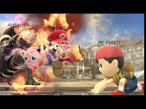 Dumb Strategies In Super Smash Bros Ultimate: PK Fire + Rest