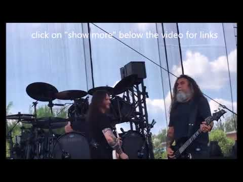 Slayer covered ZZ Top in NC sound check - Broken Hope Womb Of Horrors in studio!