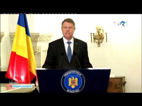 Klaus Iohannis a anunţat că va începe demersurile pentru un referendum pe tema graţierii