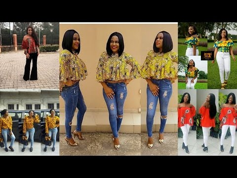 Ankara Tops Style : You Will Love To  Rock