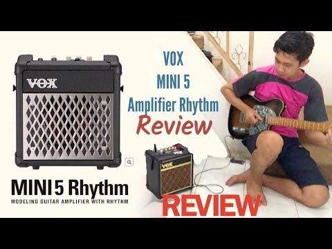 VOX MINI 5 GUITAR AMPLIFIER RHYTHM CLASSIC ( REVIEW )