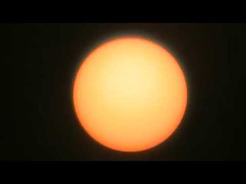 Amateur video of the sun Part 2