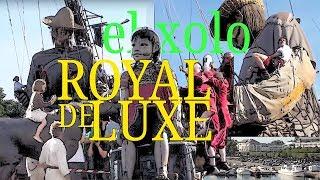 Royal de Luxe - Nantes - el xolo - Les géants