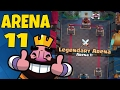 NEW LEGENDARY ARENA - ASH VS NICKATNYE :: Clash Royale Update