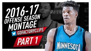 Jimmy Butler Offense Highlights Montage 2016/2017 (Part 1) - Welcome to the Timberwolves!
